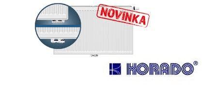 Korado Radiátor RADIK VKM8-U 21/600/1400 (univerzální připojení) maximální výkon 1812 Wattů