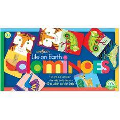 eeBoo Předškolní domino Život na zemi