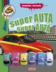 Super auta/Super autá - omalovánky