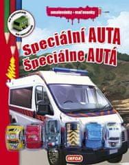 Speciální auta/Špeciálne autá - omalovánky