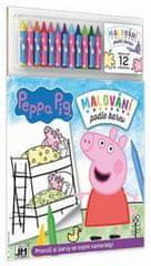 Malování podle barev Peppa