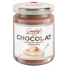 """Grashoff Mléčný čokoládový krém """"Cappuccino"""", 250g"""