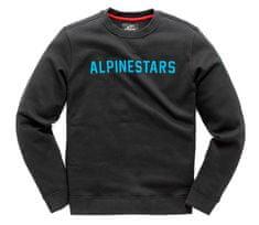 Alpinestars mikina Distance Fleece black/blue