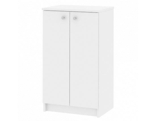 TEMPO KONDELA Koupelnová bílá skříňka GALENA SI06