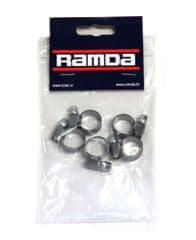 Ramda stezaljke za cijevi, inox, fi 10-16 mm, 5 komada (RA 620953/5)