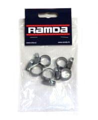 Ramda stezaljke za cijevi, inox, fi 12-20 mm, 5 komada (RA 620954/5)