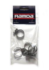 Ramda stezaljke za cijevi, inox, fi 16-25 mm, 5 komada (RA 620955/5)