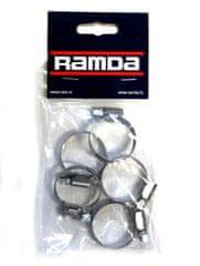 Ramda stezaljke za cijevi, inox, fi 20-32 mm, 5 komada (RA 620956/5)