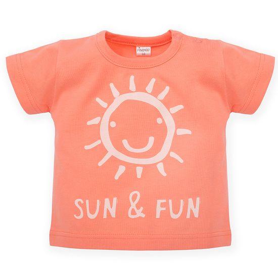 PINOKIO tričko Sun&FUN 68 oranžová