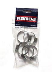 Ramda stezaljke za cijevi, inox, fi 25-40 mm, 5 komada (RA 620957/5)