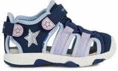 Geox dievčenské sandále MULTY B020DA_01550_C4231