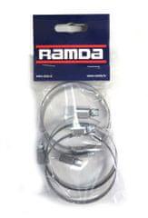 Ramda stezaljke za cijevi, inox, fi 50-70 mm, 5 komada (RA 620960/5)