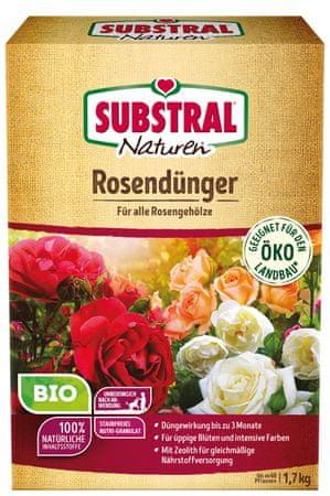 Naturen Naturen bio gnojivo za ruže, 1,7 kg