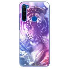 iSaprio Plastový kryt - Purple Tiger pro Xiaomi Redmi Note 8T