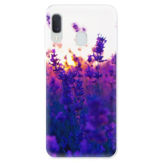 iSaprio Silikonové pouzdro - Lavender Field pro Samsung Galaxy A20e