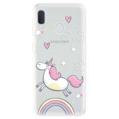 iSaprio Silikónové puzdro - Unicorn 01 pre Samsung Galaxy A20e