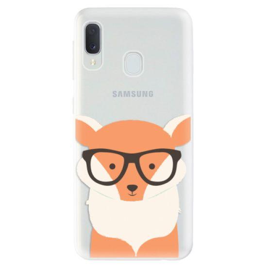 iSaprio Silikónové puzdro - Orange Fox pre Samsung Galaxy A20e