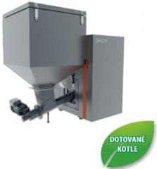 Opop Automatický kotel na tuhá paliva OPOP H824-A, výkon 7 - 24 Kw, zásobník 295 litrů
