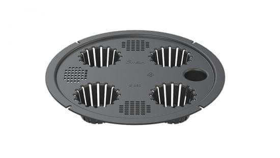 Lamela samozavlažovací systém Ø 40 cm, čierny