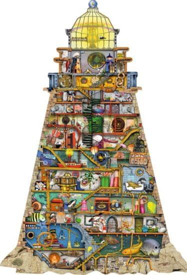 Ravensburger Tvarové puzzle Zábavný maják 995 dílků