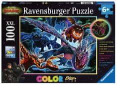 Ravensburger Svítící puzzle Jak vycvičit draka III XXL 100 dílků