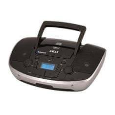 Akai APRC-108 Radiowy odtwarzacz kasetowy z CD i BT, Numer magazynowy BVZ: 9204791