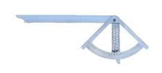 Hedue Měřící úhelník Alfa Mikro 210x450mm (m908)