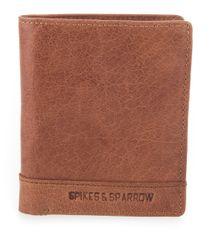 Spikes&Sparrow Brandy kožená peněženka s kapsou na mince SPIKES & SPARROW