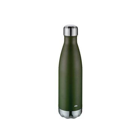 Cilio Elegante termo boca, 500ml, zelena, mat