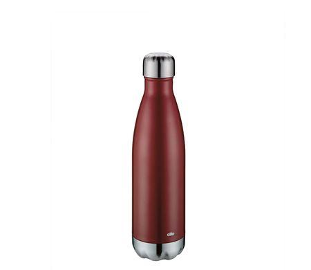 Cilio Elegante termo steklenica, 500ml, rdeča, mat