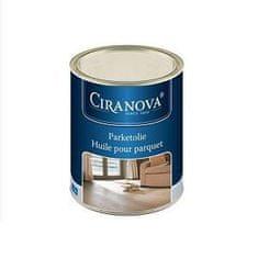 Ciranova Parketový tvrdý voskový olej, BEZFAREBNÝ, matný, balenie 1 l