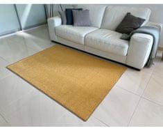 Kusový koberec Eton Exklusive žlutý