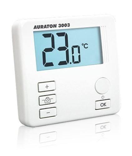 Auraton Prostorový termostat 3003 - bez programování, kabelový
