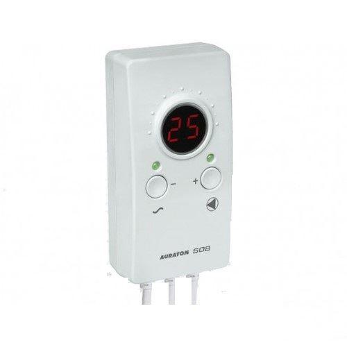 Auraton Příložný termostat AURATON S08 pro ovládání čerpadla ústředního topení nebo teplé užitkové vody