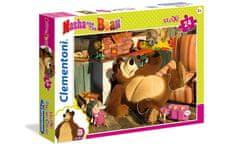 Clementoni Maxi Maša i medvjed slagalica, 24 komada (24492)