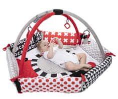 Canpol babies Kontrasztos játszószőnyeg SENSORY