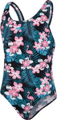 Speedo Jungleglow Allover Splashback jednodijelni kupaći kostim za djevojčice