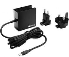 Sandberg SNDTI-135-72, USB-C, 65 W univerzalni adapter