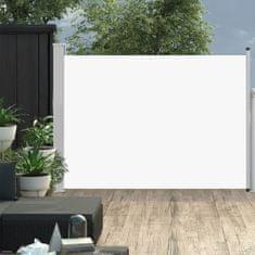 shumee Zatahovací boční markýza/zástěna na terasu 100 x 500 cm krémová