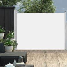 shumee Zatahovací boční markýza/zástěna na terasu 170 x 500 cm krémová