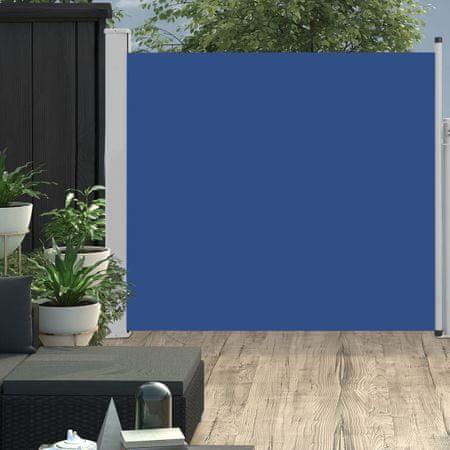 shumee Wysuwana markiza boczna na taras, 170 x 300 cm, niebieska
