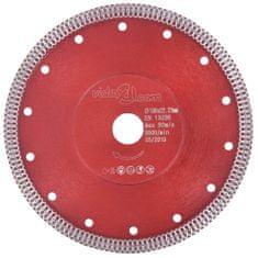 shumee Diamantový řezací kotouč s otvory ocel 180 mm