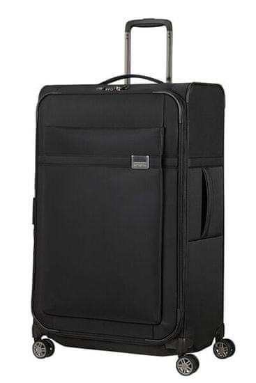 Samsonite Látkový cestovný kufor Airea 78 cm 111,5/120 l černá