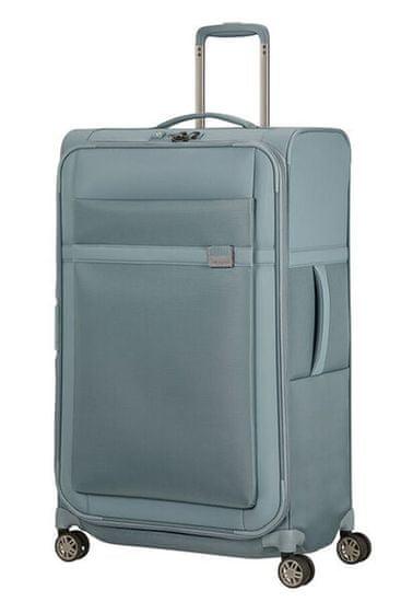 Samsonite Látkový cestovný kufor Airea 78 cm 111,5/120 l světle modrá