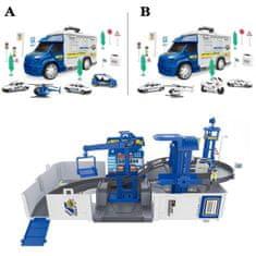 Tovornjak/garaža set, policijski