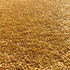 Vopi Kusový koberec Eton Exklusive žlutý čtverec
