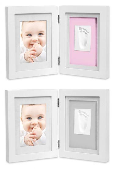 Interbaby rámček odtlačok + fotka stolný