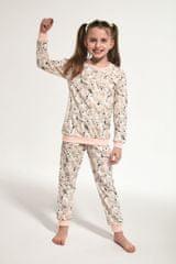 Cornette Piżama dziewczęca 033/118 young polar