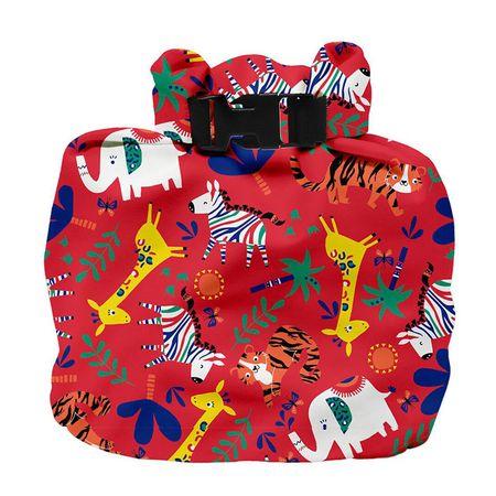 Bambinomio torba za plenice, Safari Celebration Red
