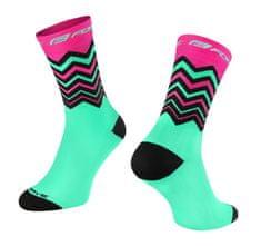 Force Cyklistické ponožky Wave